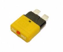 CIRCUIT BREAKER STANDARD BLADE FUSE TYPE (manual reset) Range from 5A - 30Amp